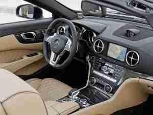 Интерьер Mercedes-Benz SL65 AMG 2013