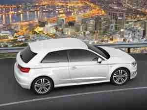 Обновленная Audi A3 2013 года