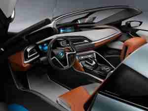 Интерьер BMW i8 Spyder Concept