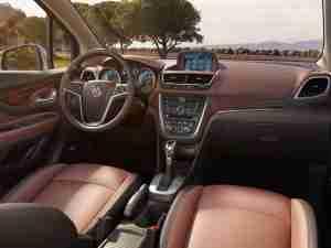 Интерьер Buick Encore 2013