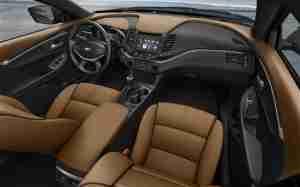 Интерьер Chevrolet Impala 2014