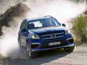 Новый Mercedes-Benz GL 2013 года