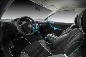 Интереьр Audi A3 Eset от Vilner