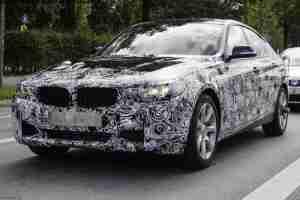 Шпионские фото новой BMW 3 Series GT spied