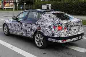 BMW 3 Series GT spied вид сзади