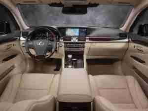 Интерьер Lexus LS 2013