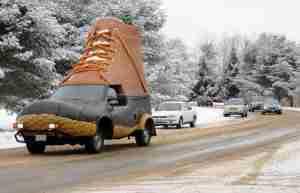 Bootmobile: автомобиль-ботинок